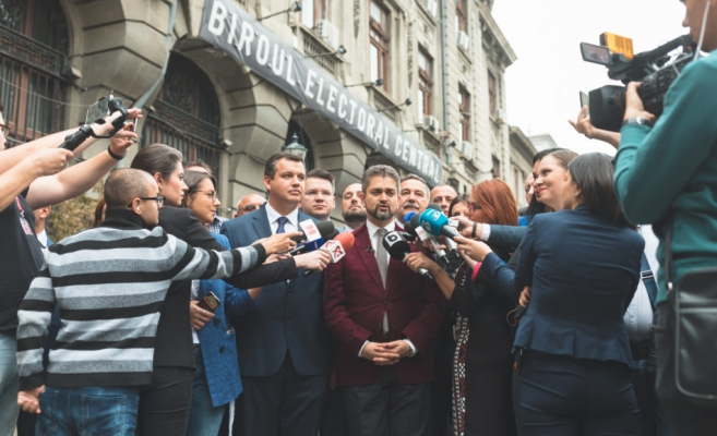 Theodor Paleologu, candidatul PMP la Președinție la alegerile din noiembrie 2019. Foto: www.pmponline.ro