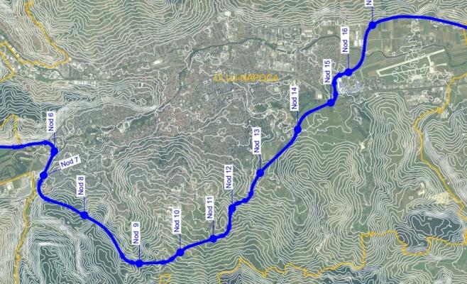 Aviz favorabil de la CNAIR, Primăria Cluj-Napoca anunță varianta finală a Centurii Metropolitane, sursă foto: Primăria Cluj-Napoca