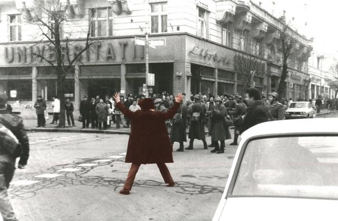 Tur ghidat al Revoluției în Cluj, la trei decenii de când mii de oameni au vărsat sânge pentru libertate, foto: Răzvan Rotta, Facebook Asociația București