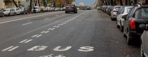Taximetriștii clujeni răsuflă ușurați, Primăria anunță un proiect-pilot privind banda dedicată pentru taxiuri, sursă foto: Facebook Emil Boc