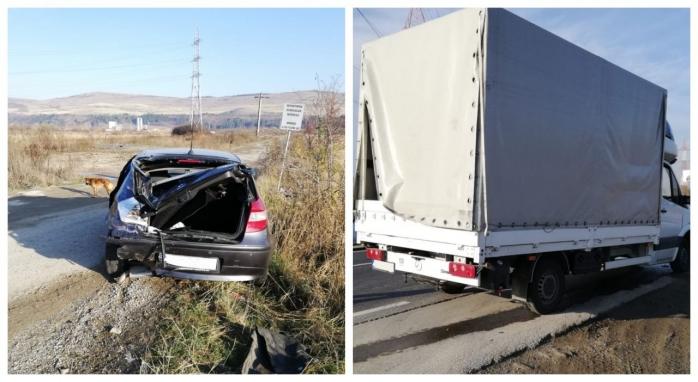 Accident între Florești și Gilău, un bărbat a suferit multiple traumatisme, sursă foto: ISU Cluj