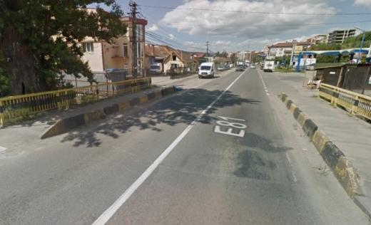 Podețul buclucaș de pe Calea Baciului va fi lărgit la patru benzi, Primăria îl cedează în favoarea DRDP Cluj, sursă foto: Google Maps
