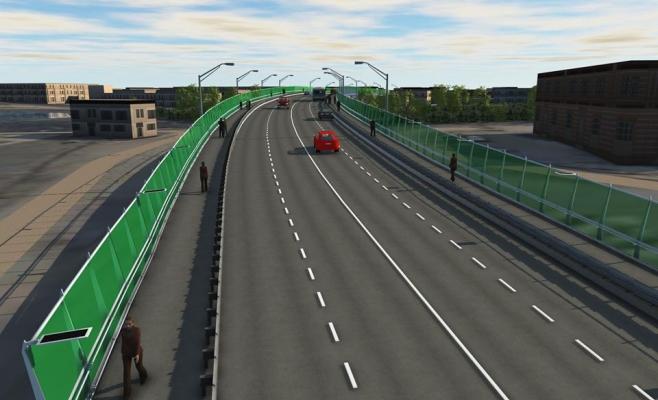 Veste bună pentru clujeni! Circulația pe Podul Fabricii a fost redeschisă integral, sursă foto: Facebook Emil Boc