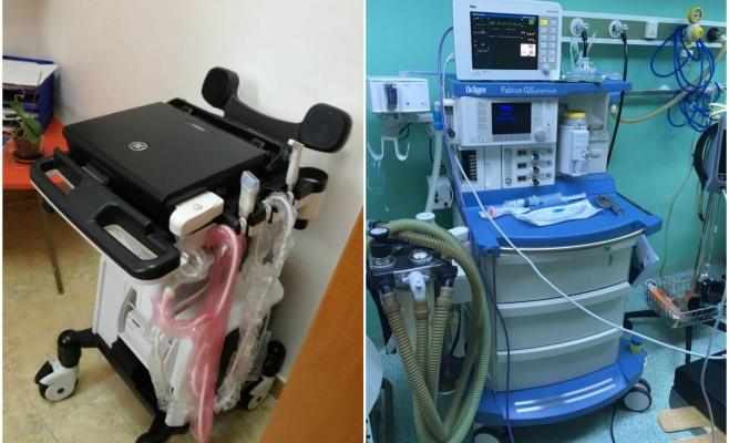 Aparatură modernă pentru pacienții de la Spitalul de Recuperare Cluj-Napoca, sursă foto: CJ Cluj