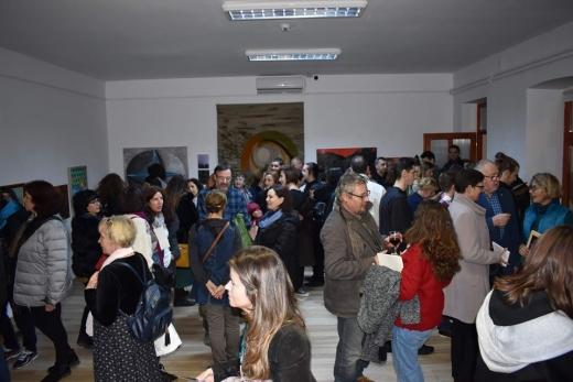 """Profesori clujeni, expoziție de artă la Bistrița: """"Un schimb de experiență cu multă prietenie!"""", sursă foto: Facebook Complexul Muzeal Bistrița-Năsăud"""
