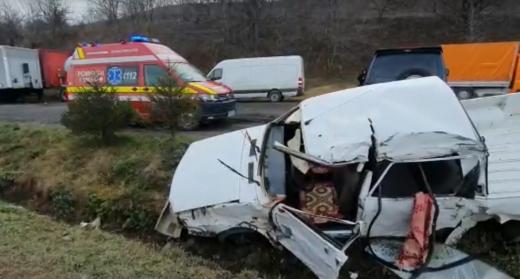 TRAGEDIE la Cornești, două victime au DECEDAT! Un bărbat și o femeie cu un prunc nenăscut au pierdut lupta cu moartea, sursă foto: ISU Cluj
