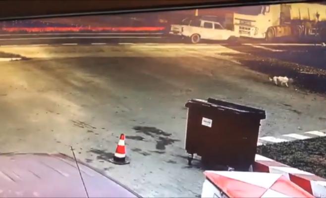 ACCIDENTUL mortal de la CORNEȘTI surprins de o cameră de supraveghere! VIDEO