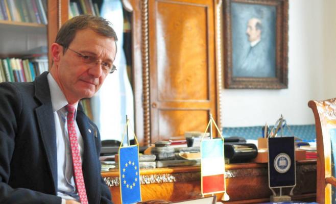 """Ioan-Aurel Pop, """"bucureștean de onoare"""". Rectorul UBB a devenit cetățean de onoare al Capitalei"""
