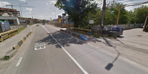 Sălăjenii își pun mari speranțe în modernizarea podețului de pe Calea Baciului, cu patru benzi, sursă foto: Google Maps