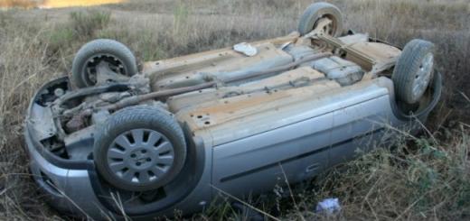 """Se întâmplă la Mociu: un cuplu a făcut o """"tumbă"""" cu mașina și a scăpat fără vreo zgârietură!, sursă foto: Arhivă"""