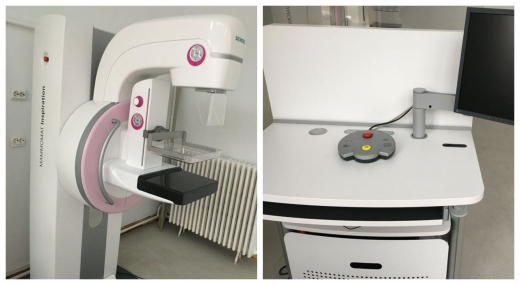 Instalație radiologică digitală de mamografie, achiziționată cu 500.000 lei pentru Spitalul CFR, sursă foto: CJ Cluj