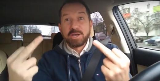 """Sturzu îi ațâță pe clujeni: """"Când rezolvați rușinea de la Pata-Rât, vin și vă țuc pe frunte!"""", sursă foto: captură video YouTube Mihai Sturzu"""