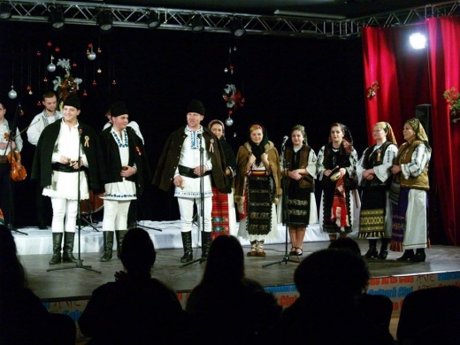 Colindătorii din Cluj reprezintă județul la un festival de datini și obiceiuri în Teleorman, sursă foto: Facebook