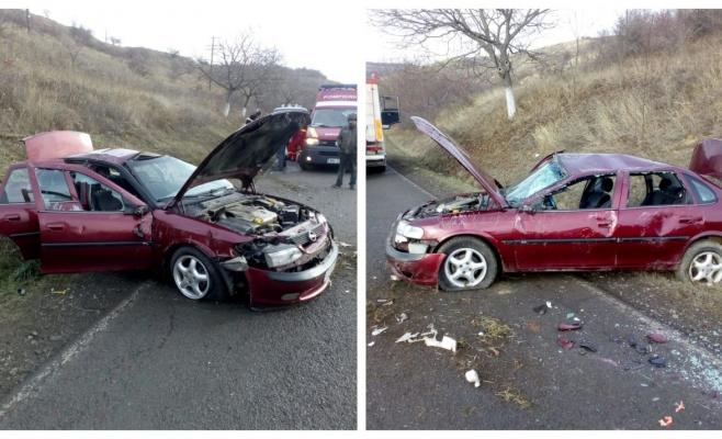 Accident la Mociu, o fetiță de 13 ani a ajuns la spital, sursă foto: ISU Cluj