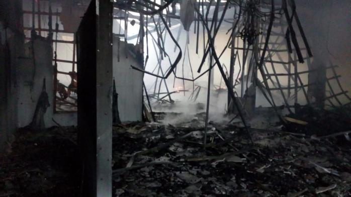 VIDEO Incendiu la Gherla, o sală s-a făcut scrum. Urma un eveniment cu sute de invitați!, sursă foto/video: ISU Cluj