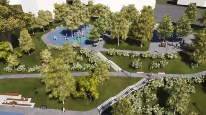 Parcul Observator, noul loc de agrement pentru clujenii din Zorilor, aprobat în Comisia de Urbanism, sursă foto: Facebook Emil Boc