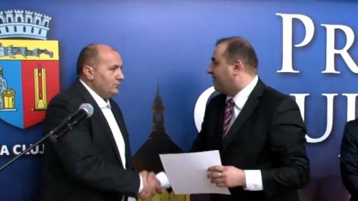 Schimbare în Consiliul Local. Liberalul Adrian Roman a depus jurământul