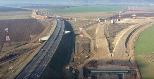 Doar promisiuni? Loturile 1 și 2 ale Autostrăzii Sebeș-Turda, șanse infime de finalizare în 2020, sursă foto: captură video Ziarul Unirea