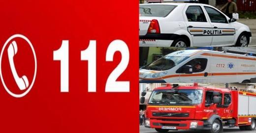 PREMIERĂ națională! Numărul urgențelor anunțate prin 112 a depășit alarmele false