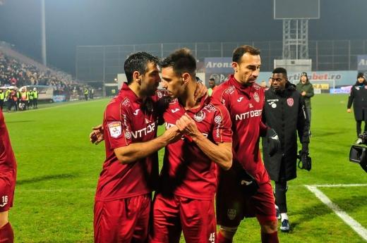 CFR a rupt blestemul deplasărilor de ziua lui Dan Petrescu. Culio, gol la ultimul meci în România, sursă foto: Facebook CFR Cluj