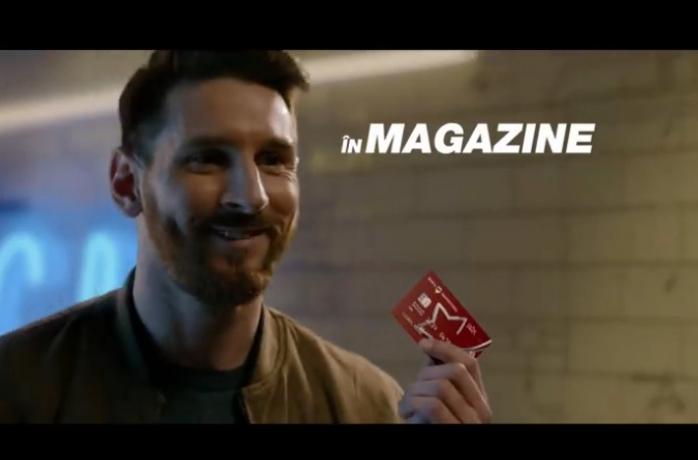 Nu e glumă! Messi și-a făcut card Banca Transilvania