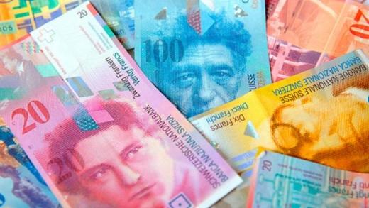 ANALIZĂ VALUTARĂ Francul elvețian a crescut cu 4,6% de la începutul anului