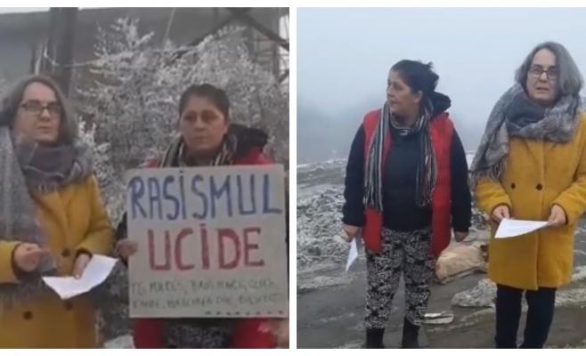 """Este Pata Rât istorie? Activiștii spun că NU! """"Când se vor trage la răspundere cei vinovați de întoxicarea oamenilor?"""", sursă foto: Facebook Căși Sociale ACUM"""