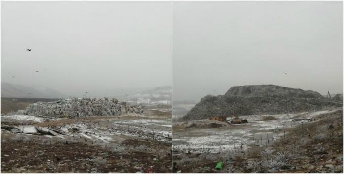 """Se formează un nou """"munte"""" de gunoaie la Pata Rât? """"Rampa temporară"""" A CRESCUT!, sursă foto: Căși Sociale ACUM"""