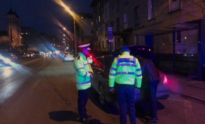 Șoferii, luați la puricat de polițiștii clujeni. Zeci de sancțiuni aplicate și permise reținute, sursă foto: IPJ Cluj