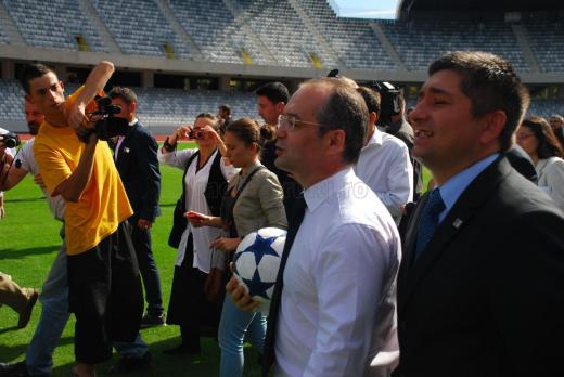 Emil Boc și Alin Tișe, premiați de Federația Română de Atletism