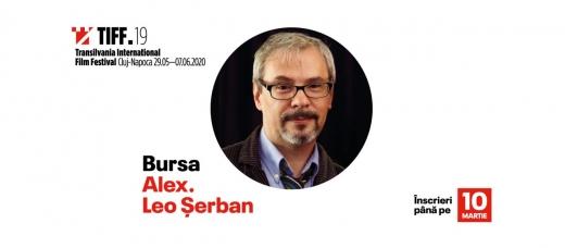 TIFF 2020 Încep înscrierile pentru Bursa Alex. Leo Șerban, acordată în memoria fostului critic de film