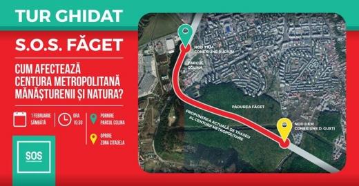 După SOS Parcul Est, SOS Făget! Activiștii, îngrijorați de traseul Centurii Metropolitane, sursă foto: SOS Parcul Est