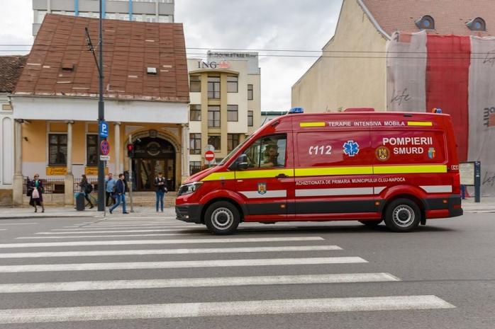 Autospecială nouă pentru ISU Cluj, achiziționată de Primăria Cluj-Napoca pentru 150.000 €, sursă foto: Facebook Dan Tarcea