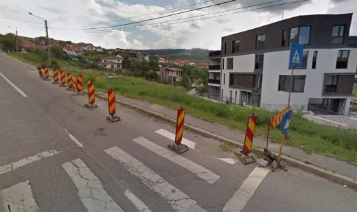 Clujenii de pe Soporului, exasperați de gropi, se tem de accidente. Sesizările curg gârlă!, sursă foto: Google Maps