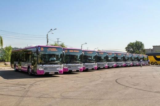 25 de troleibuze noi începând de astăzi în Cluj-Napoca! Pe ce linii le vom vedea