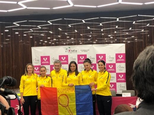"""România - Rusia FED Cup! Ruse şi Alexandrova deschid """"balul"""" la Cluj-Napoca, sursă foto: Tibi Demeter/ monitorulcj.ro"""