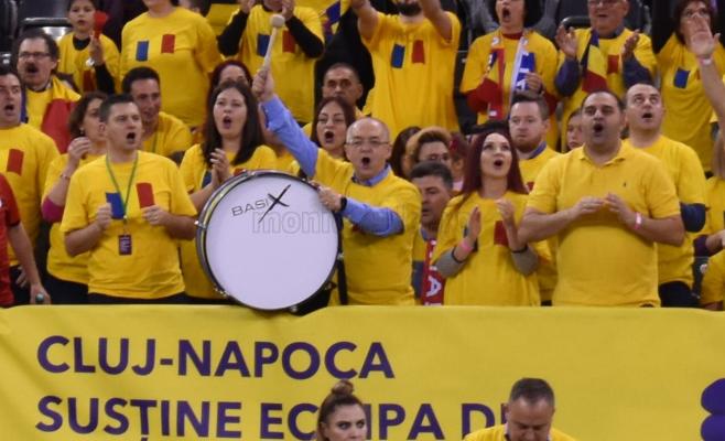 Boc bate toba, Boc o bate tare! Primarul, suporterul de lux al tenismenelor la duelul cu Rusia, sursă foto: Eliza Lucaciu/ monitorulcj.ro
