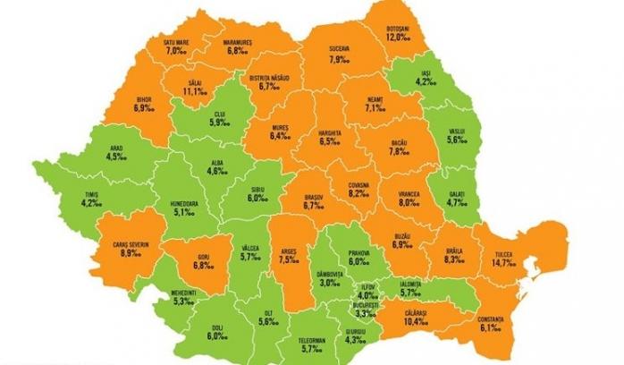 Harta mortalității infantile. 5,9 din 1.000 de copii născuți vii la Cluj pierd lupta cu moartea, sursă foto: Facebook Salvați Copiii