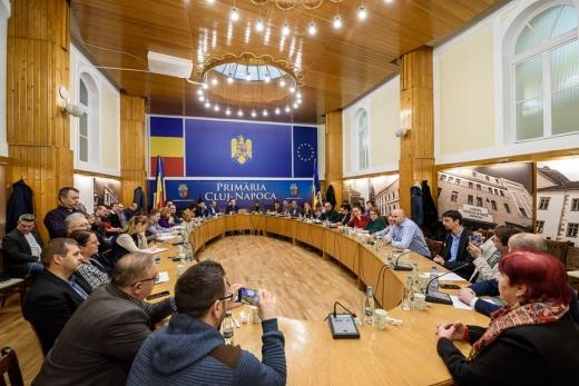 Bugetul Clujului, dezbătut public cu Emil Boc. 353 mil. € pentru proiectele prioritare ale clujenilor, sursă foto: Facebook Emil Boc