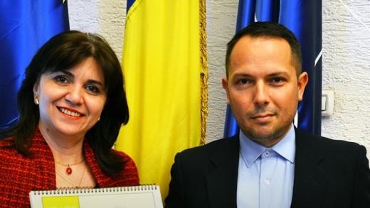 Clujeanul care le-a adus lumină! România, prima țară care implementează Alfabetul Scripor pentru nevăzători, sursă foto: Ministerul Educației și Cercetării