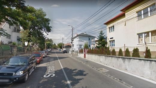 Bărbat cercetat pentru răpire și scandal, prins de polițiști pe o stradă centrală din Cluj, sursă foto: Google Maps