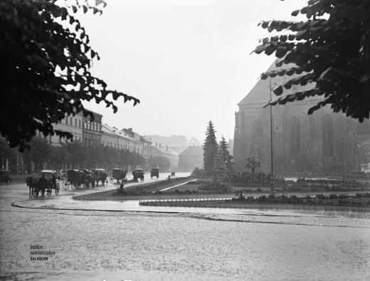 Cum arăta Piața Unirii din Cluj-Napoca în 1934?