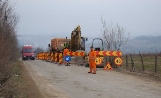 Drum județean din Cluj, transformat în drum național? Tișe îl modernizează de ani de zile