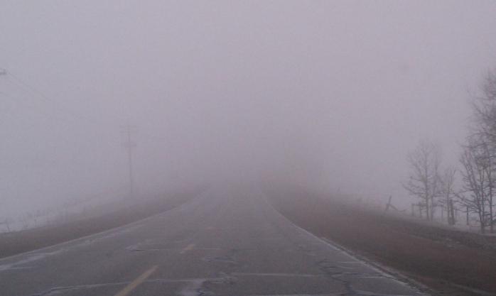 Atenție! Cod GALBEN de ceață în județul Cluj