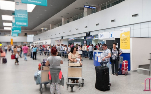 """Coronavirus. Filtru special la Aeroportul Cluj: """"Am evaluat încă din ianuarie parametrii medicali ai pasagerilor"""""""