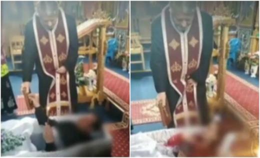 Preotul din Huedin care a pus romii să jure în sicriu, pedepsit de Arhiepiscopia Clujului