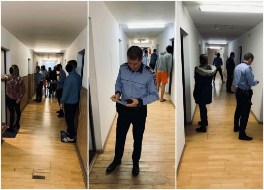 MATINALI. Sute de studenți de la UTCN s-au trezit cu polițiștii clujeni la ușă