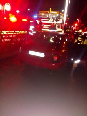 ACCIDENT în Dej! O tânără a ajuns la spital