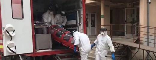 Un nou SUSPECT de CORONAVIRUS transporat la Spitalul de Boli Infecțioase din Cluj
