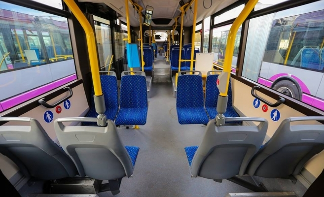 Mijloacele de transport în comun, DEZINFECTATE după fiecare ciclu de călătorie